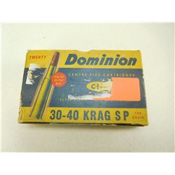 DOMINION 30-40 KRAG AMMO