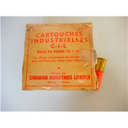 """CIL INDUSTRIAL SHELLS """"CLINKERS"""" AMMO"""