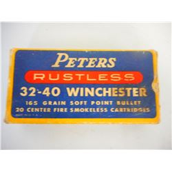 ASSORTED 32-40 WINCHESTER AMMO