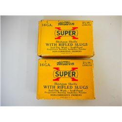 """WESTERN SUPER X 16 GA 2 3/4"""" SLUGS"""