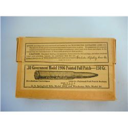 WINCHESTER .30 GOV'T MODEL 1906 AMMO