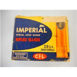 "IMPERIAL 28 GA 2 3/4"" SHOTSHELLS"