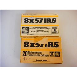 RWS 8X57 IRS AMMO