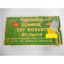 REMINGTON 257 ROBERTS AMMO