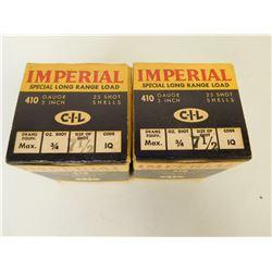 """IMPERIAL 410 GA 3"""" SHOT"""
