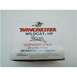 WINCHESTER WILDCAT HP AMMO