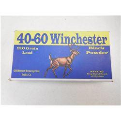 40-60 WINCHESTER AMMO