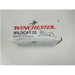 WINCHESTER WILDCAT 22 AMMO