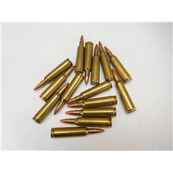ASSORTED 22-250 RELOADS