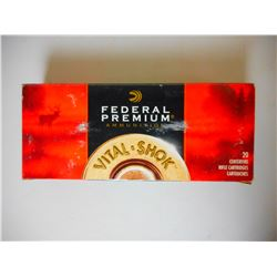 FEDERAL VITAL -SHOK .338 WIN MAG AMMO