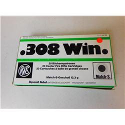 RWS .308 WIN AMMO