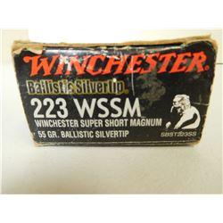 WINCHESTER 223 WSSM AMMO