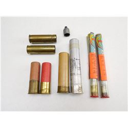 ASSORTED MILITARY SHELLS & FLARES