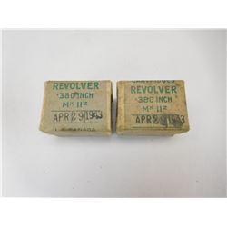 """REVOLVER .380"""" MK IIZ AMMO"""