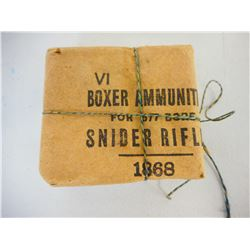 .577 BORE SNIDER RIFLE AMMO