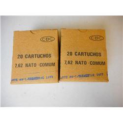 CBC 7.62 NATO AMMO