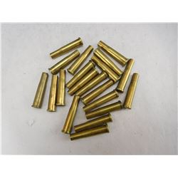 ASSORTED 22 HORNET BRASS