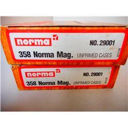 NORMA 358 NORMA MAGNUM CASES