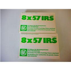 RWS 8 X 57 IRS UNPRIMED CASES