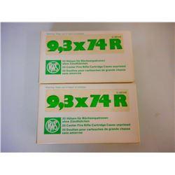 RWS 9.3 X 74 R BRASS