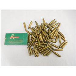 ASSORTED 222 REMINGTON BRASS