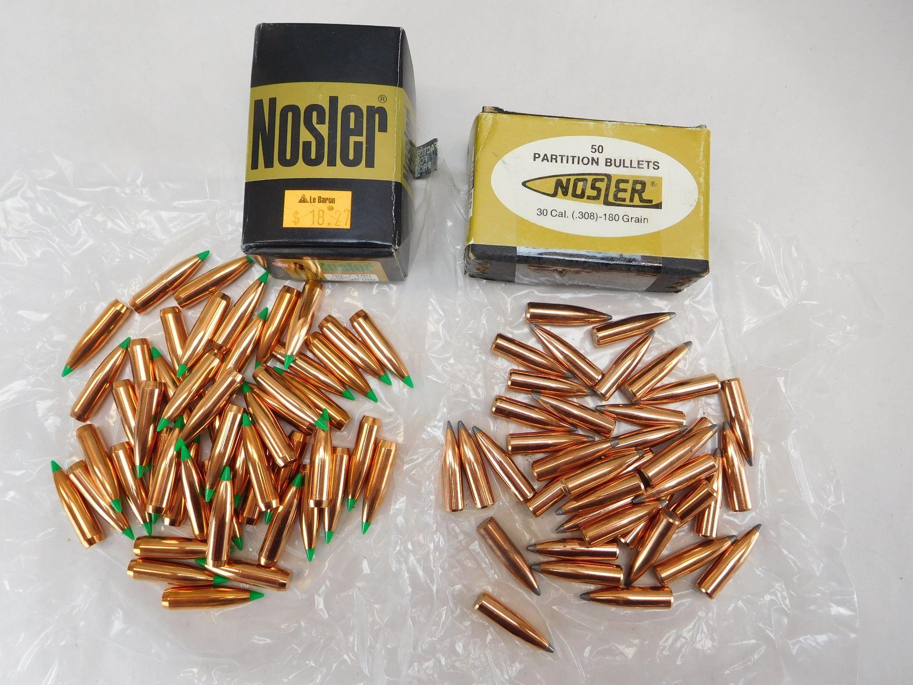 Nosler 30 Cal Bullets