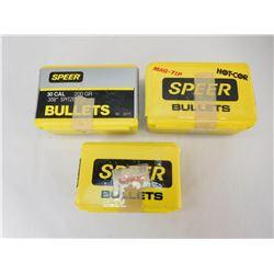 SPEER .30 CAL BULLETS