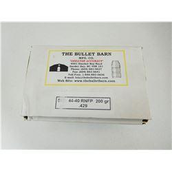BULLET BARN 44-40 RNFP BULLETS