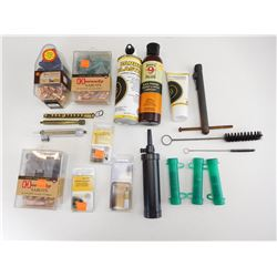 ASSORTED MUZZLELOADING ACCESSORIES