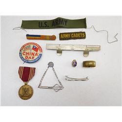 ASSORTED U.S. MILITARY MEDAL & RIBBONS