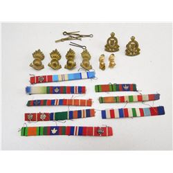 CAP, COLLAR BADGES & RIBBON BARS