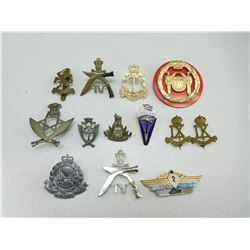 ASSORTED INTERNATIONAL BADGES & CAP/COLLAR BADGES
