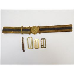 ITALIAN WWII DRESS BELT & BUCKLE