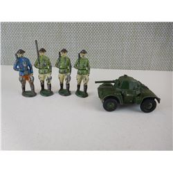 WWI LEAD SOLDIER TOYS