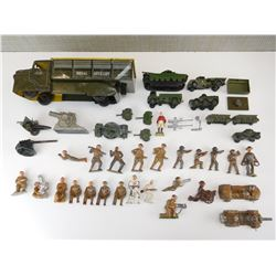 ASSORTED WWI/II TOYS
