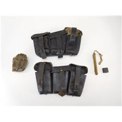 ASSORTED WWII ACCESSORIES