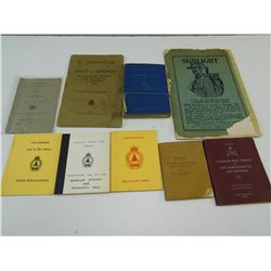 ASSORTED MILITARY BOOKS & MATERIAL