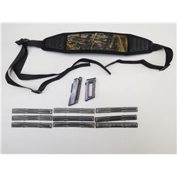 MAGAZINE, CLIPS AND SLING