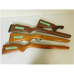 ASSORTED GUN STOCKS