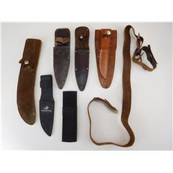 ASSORTED KNIFE HOLSTERS
