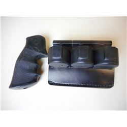 HOLSTER & RUBBER GRIP