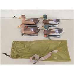 BAG OF DUCK DECOYS