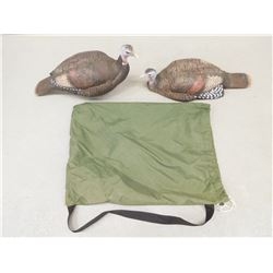 BAG OF TURKEY DECOYS