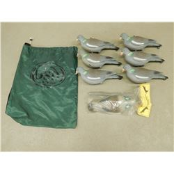 BAG OF PIGEON DECOYS