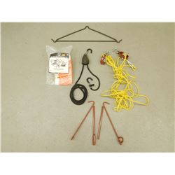 ASSORTED HUNTING EQUIPMENT