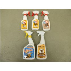 ASSORTED SCENT REMOVAL SPRAYS