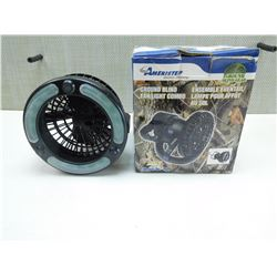 AMERISTEP GROUND BLIND LIGHT/FAN COMBO