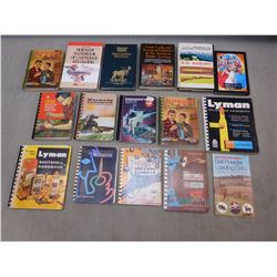 ASSORTED RELOADING BOOKS & MANUALS