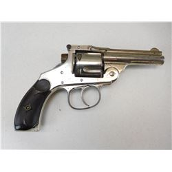 HOPKINS & ALLEN , MODEL: TOP BREAK AUTO EJECT HAMMERLESS ,  CALIBER: 38 S&W