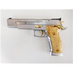 SIG SAUER , MODEL: P226 X-SIX  SCANDIC ,  CALIBER: 9MM LUGER